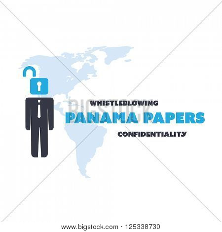 Panama Papers Concept Design - Whistleblowing and Confidentiality Problem