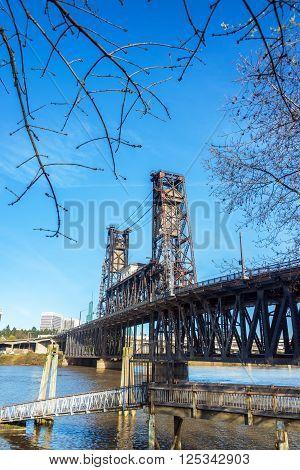 Steel Bridge Vertical