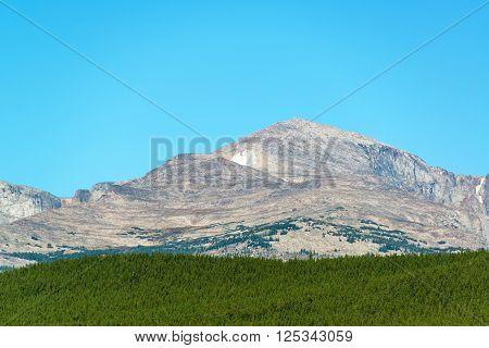 Darton Peak In Wyoming