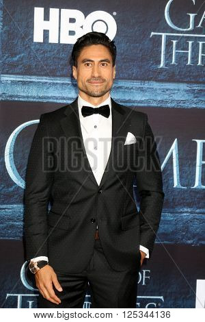 LOS ANGELES - APR 10:  Joe Naufahu at the Game of Thrones Season 6 Premiere Screening at the TCL Chinese Theater IMAX on April 10, 2016 in Los Angeles, CA