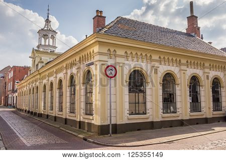 The Jacob- en Annagasthuis in the center of Groningen Netherlands