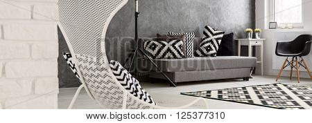 Mind Gets Clearer In This Black And White Interior