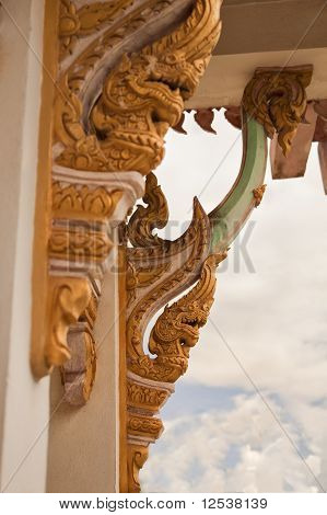 Buddhist Temple Decor