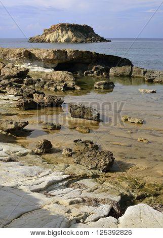 Cape Drepano & Geronisos Island Agios Georgios Cyprus