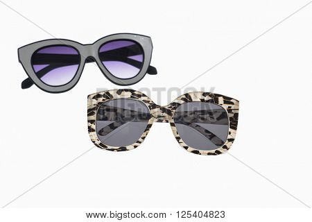 two sunglasses isolated