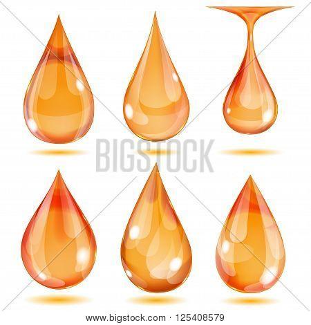 Opaque Orange Drops