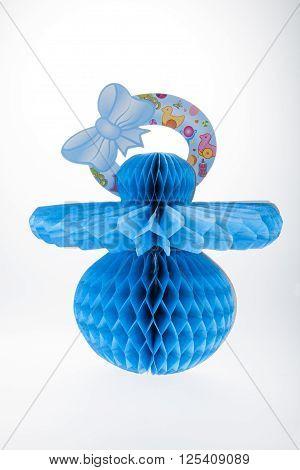 Blue Pacifier