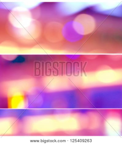 Blur photo or photo for background out of focus pink and purple color