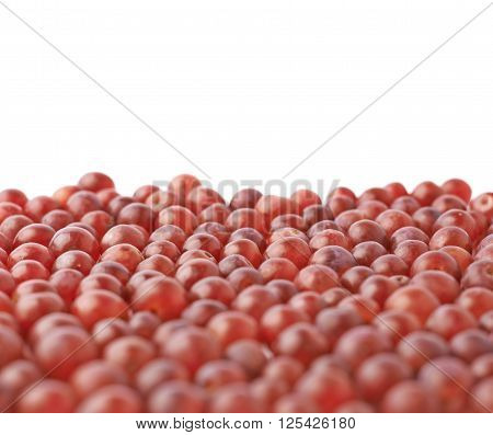 Surface covered with the dark red grapes as a copyspace background composition