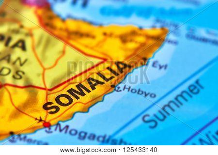 Somalia On The Map