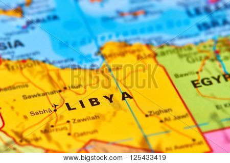 Libya On The Map