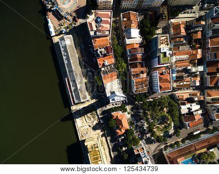 Top View of Marco Zero Square, Recife, Brazil