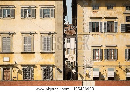 Buildings Along The Arno River