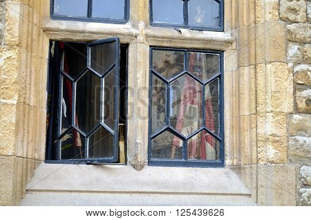 open window at the tower of london