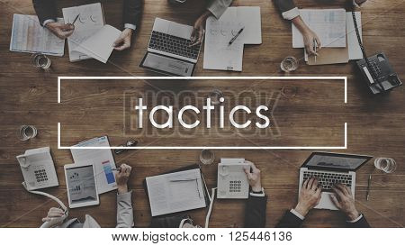 Tactics Strategy Planning Tactical Organizatioin Concept