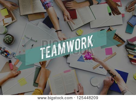 Team Teamwork Association Collaboration Unity Concept