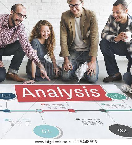 Business Team Analysis Concept