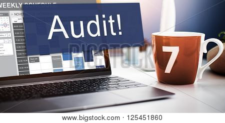 Audit Accounting Bookkeeping Assessment Evaluation Concept