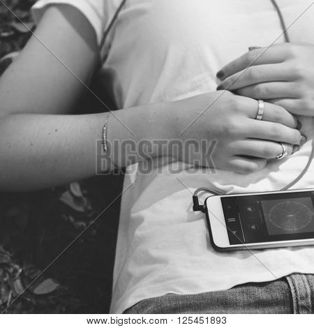 Music Playlist Attractive Charming Fashion Song Concept