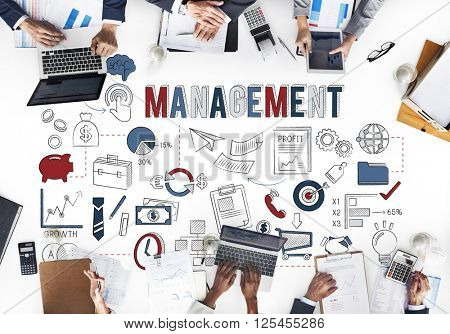 Management Business strategy Coordination Concept