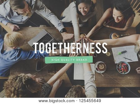 Together Togetherness Community Friends Team Concept