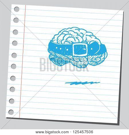 Brain with belt
