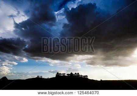 Bada Bagh Complex In Jaisalmer, Rajasthan In India