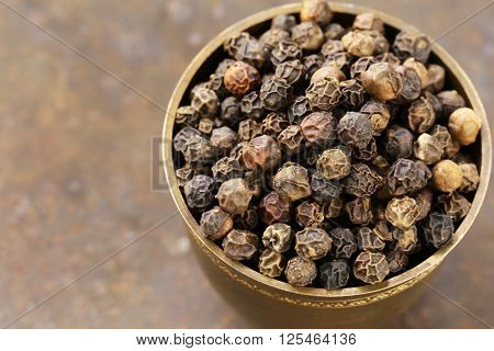 black pepper spices traditional and flavorful seasoning for food