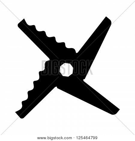 Blender blade ( shade picture ) on white background