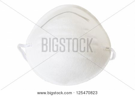 Respirator For Breathing Protection Isolated On White Background