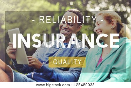 Insurance Life Reliability Quality Living Concept