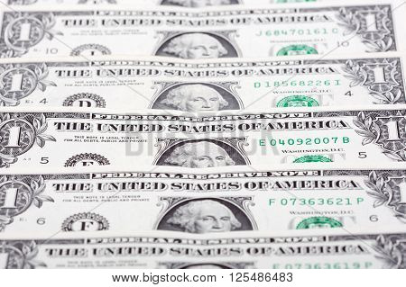 American dollars, a background with american money