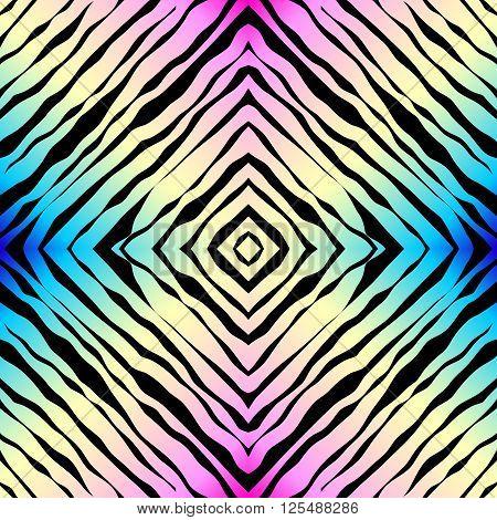 Seamless background pattern. Diagonal exotic geometric pattern.