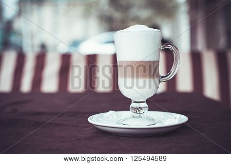 Cup With Latte