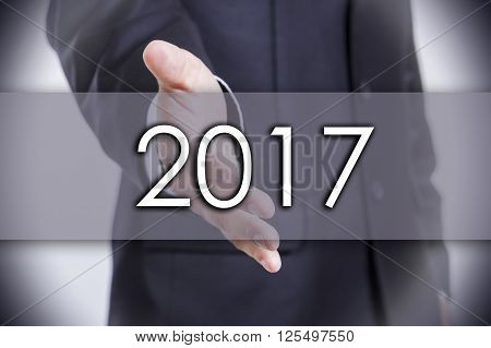 2017 - Business Concept With Text