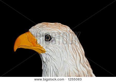 Porcelain Eagle Head