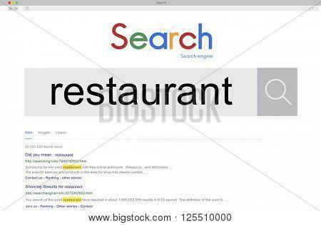 Restaurant Cuisine Cooking Cafeteria Chef Bistro Concept