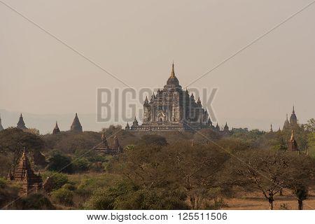 Thatbyinnyu temple The highest temple in Bagan Myanmar