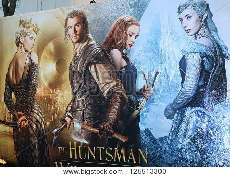 LOS ANGELES - APR 11:  Atmopshere at the The Huntsman Winter's War American Premiere at the Village Theater on April 11, 2016 in Westwood, CA