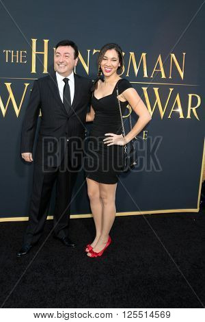 LOS ANGELES - APR 11:  Evan Spiliotopoul at the The Huntsman Winter's War American Premiere at the Village Theater on April 11, 2016 in Westwood, CA