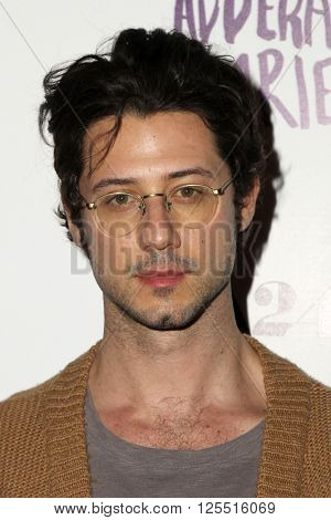 LOS ANGELES - APR 12:  Hale Appleman at the The Adderall Diaires Premiere Screening of A24/DIRECTV Series at the ArcLight Hollywood on April 12, 2016 in Los Angeles, CA