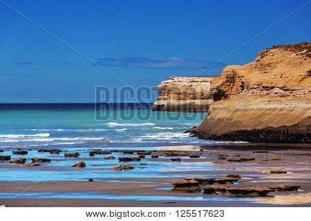 Patagonian Coast in Argentina