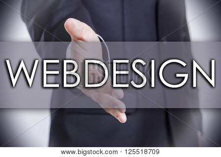 Webdesign - Business Concept With Text