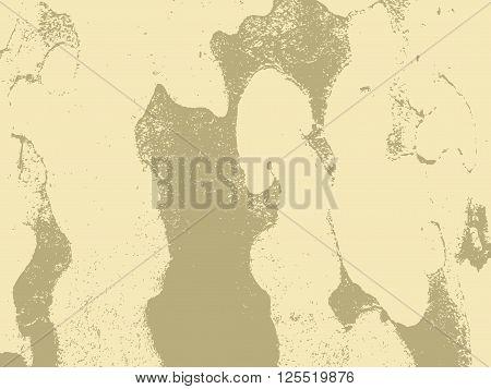 Bark close up texture vector illustration. Beige colors