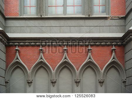 Element of architectural decoration of the Catholic Church.