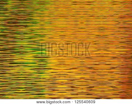 Golden striped luminous silver metallic abstract background