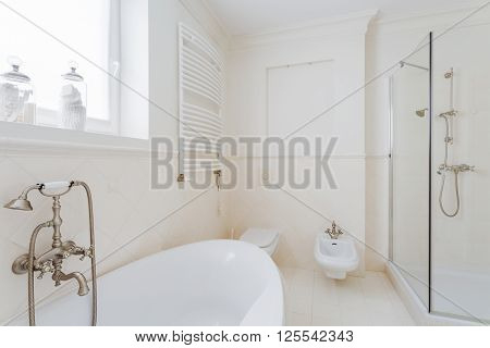 Barthroom In Modern Expensive House