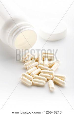 White Yoghurt Capsules