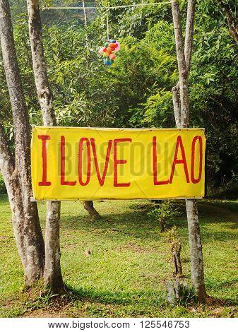 Vang Vieng, Laos - December 11, 2013: