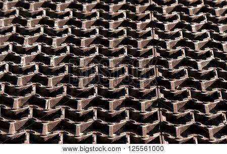 Plastic Floor Cover Texture.